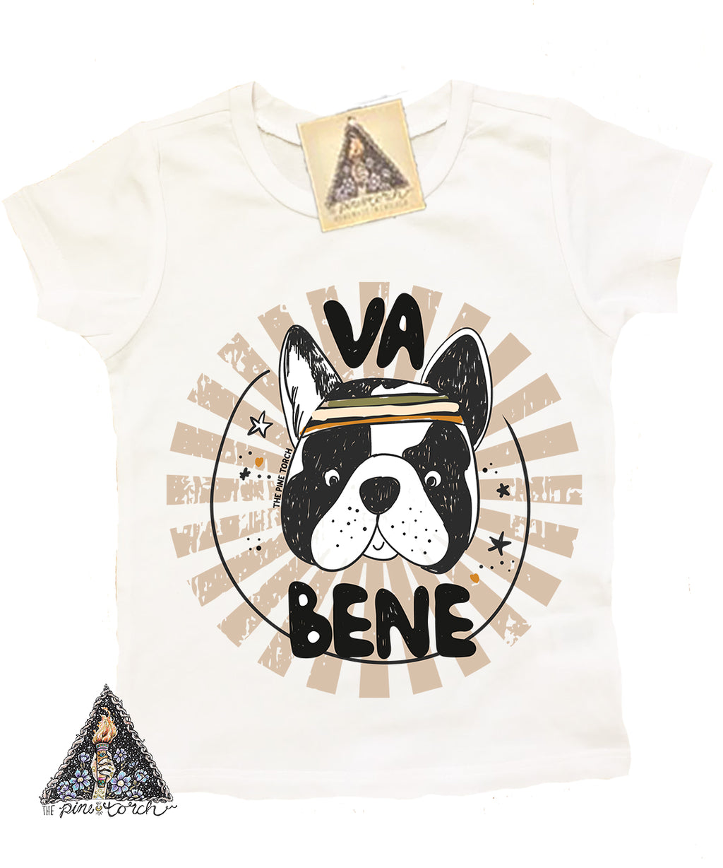 « VA BENE » KIDS TEE (5 colors)
