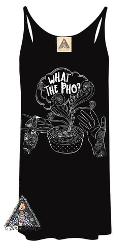 « WHAT THE PHO » WOMEN'S TANK