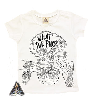 « WHAT THE PHO? » KID'S TEE