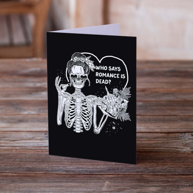 WHO SAYS ROMANCE IS DEAD? // GREETING CARD