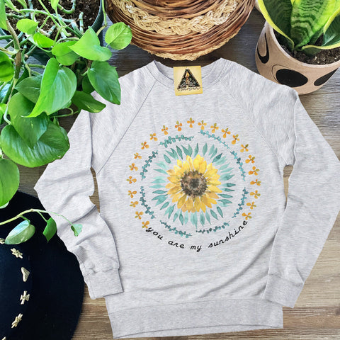 « YOU ARE MY SUNSHINE » UNISEX PULLOVER