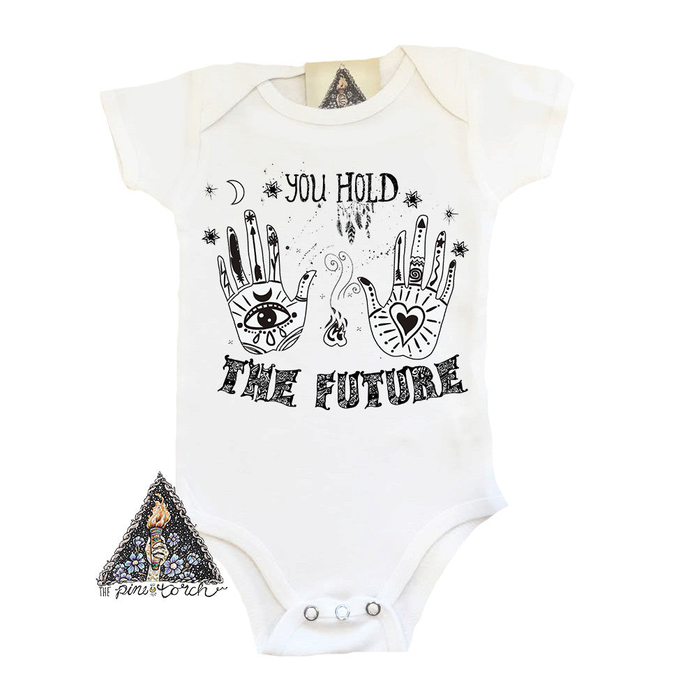 « YOU HOLD THE FUTURE » BODYSUIT