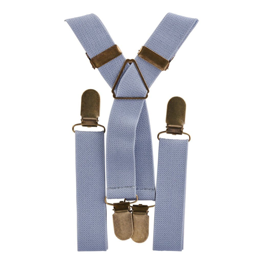 Dusty Elastic Suspenders