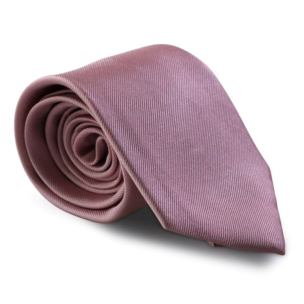 Dusty Mauve XL Silk Neck Tie