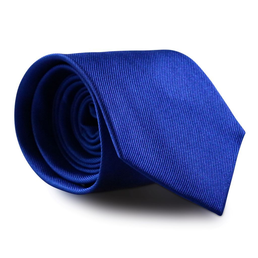 Horizon Blue XL Silk Neck Tie