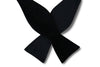 Midnight Black Silk Self-Tie Bow Tie