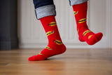 Red Taco Ninja Socks