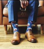 Cognac Whiskey Glass Sock