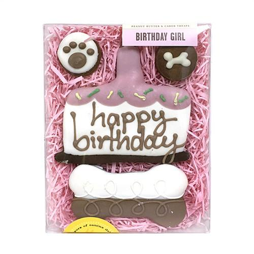 Birthday Girl Dog Treat Box