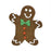 Gingerbread Man Dog Treat