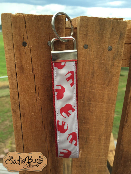 Alabama Crimson Tide Key Fob Wristlet - Crimson Elephant