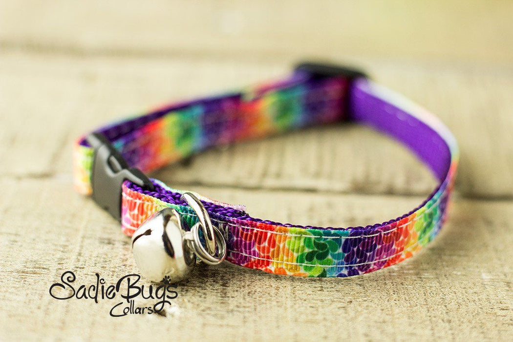 Colorburst cat collar