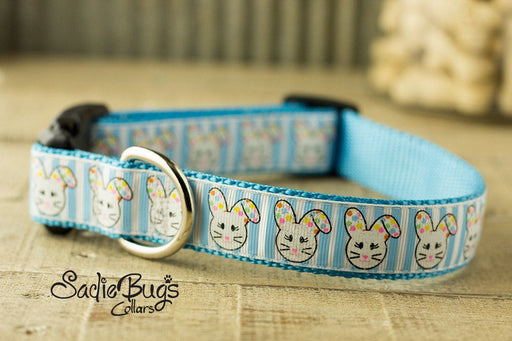 Floppy Easter Bunny Dog Collar