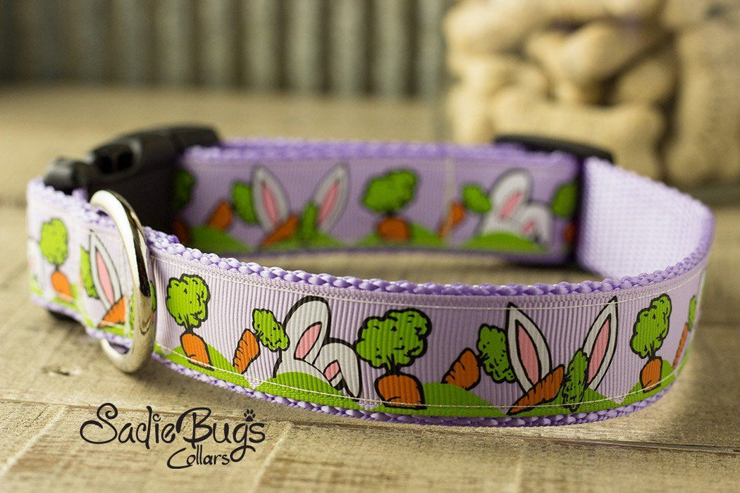 Easter Bunny dog collar - Easter & Spring