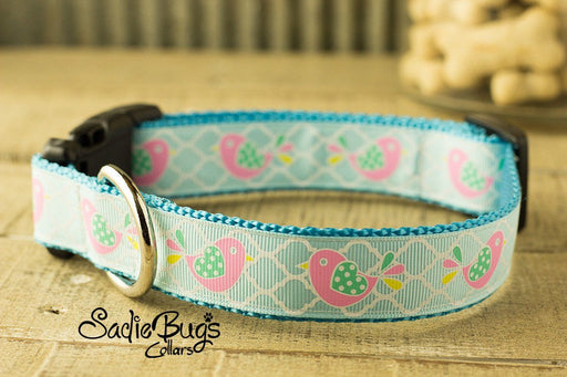 Easter birdie dog collar - Easter & Spring