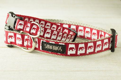 State of Alabama Elephant Dog Collar