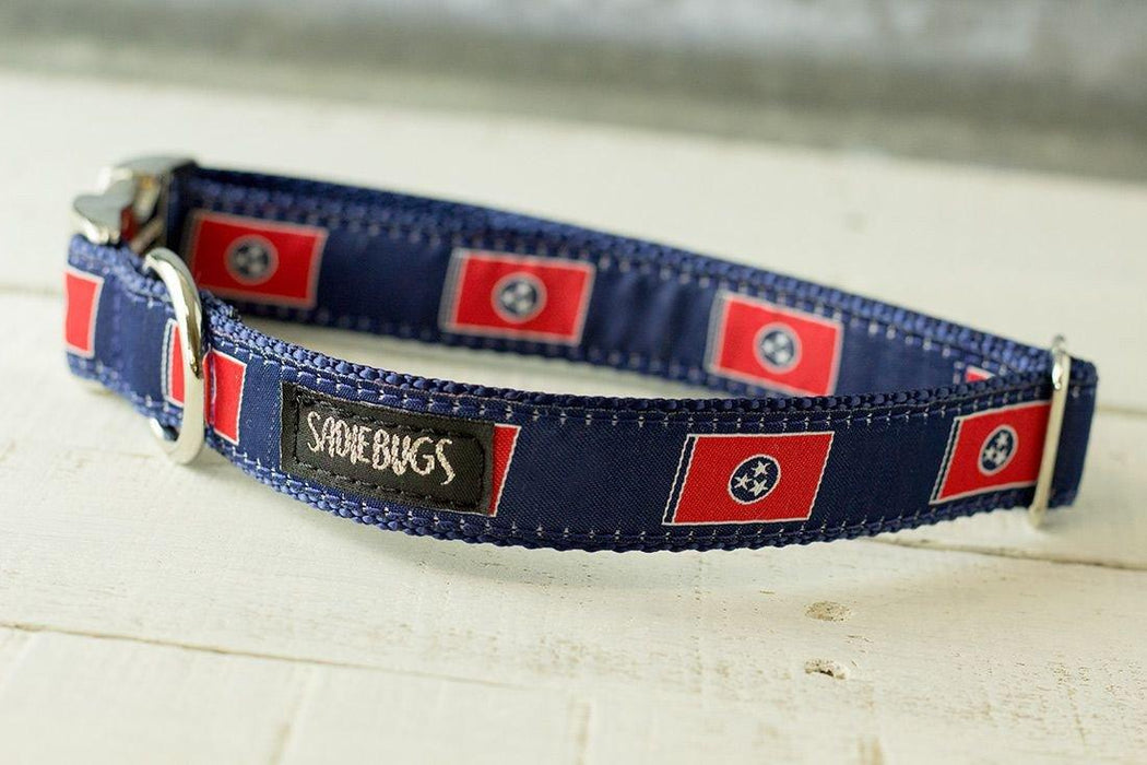 Tennessee Flag dog collar