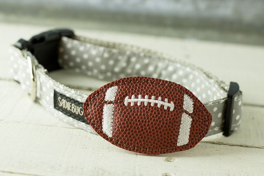 Football Dog Collar Accessory
