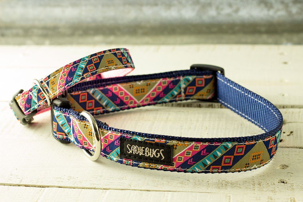 Aztec dog collar