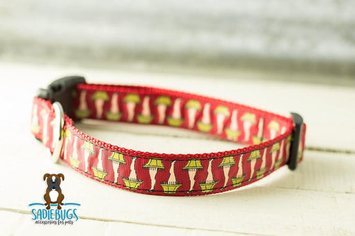 Leg lamp dog collar - Christmas