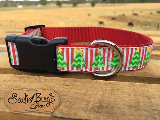 Christmas tree dog collar - Christmas dog collar