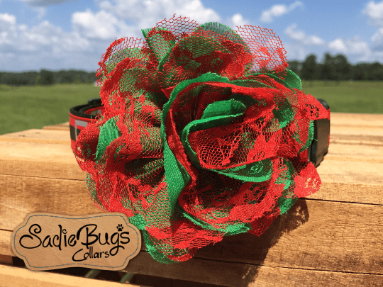 Christmas Flower - Flower Collar Attachment