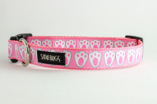 Easter Bunny dog collar - Pink