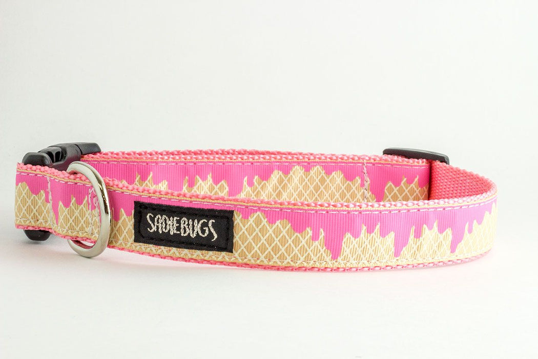 Ice Cream Dog Collar, pink