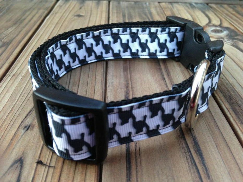 Roll Tide Houndstooth University of Alabama Dog Collar