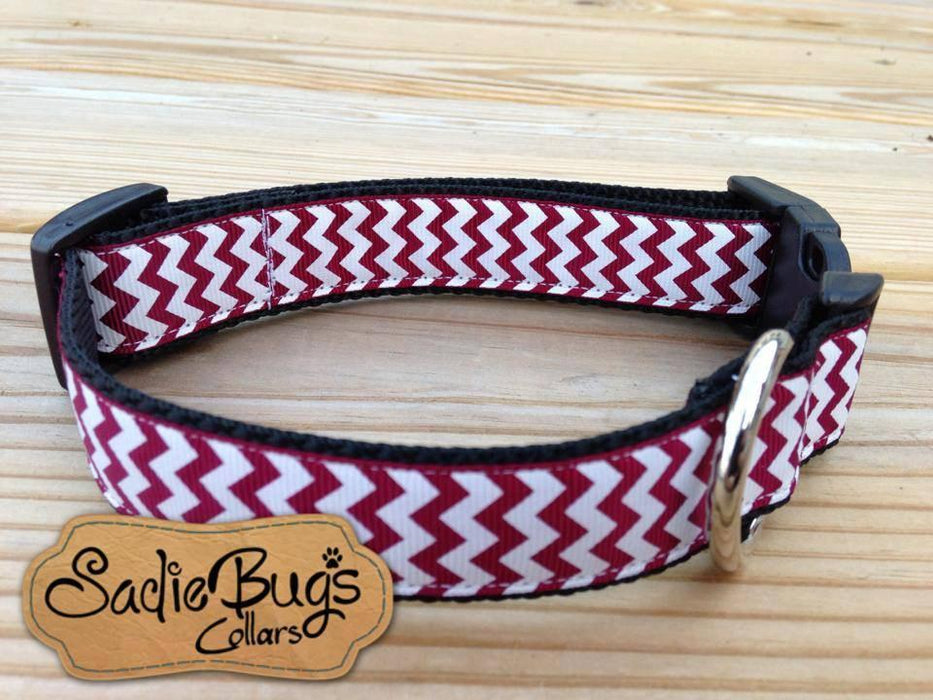 Mississippi State Chevron Dog Collar