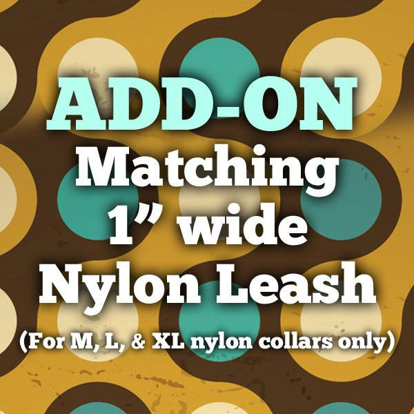 ADD-ON: Matching Dog Leash to your order!