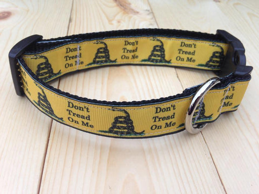 Don't Tread On Me Dog Collar