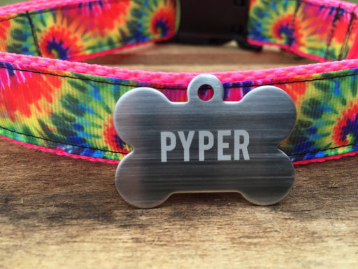 Stainless Steel Custom Pet ID Tag