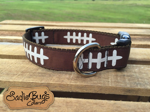 Football dog collar