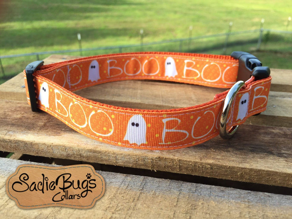 Ghost dog collar - Halloween, Boo