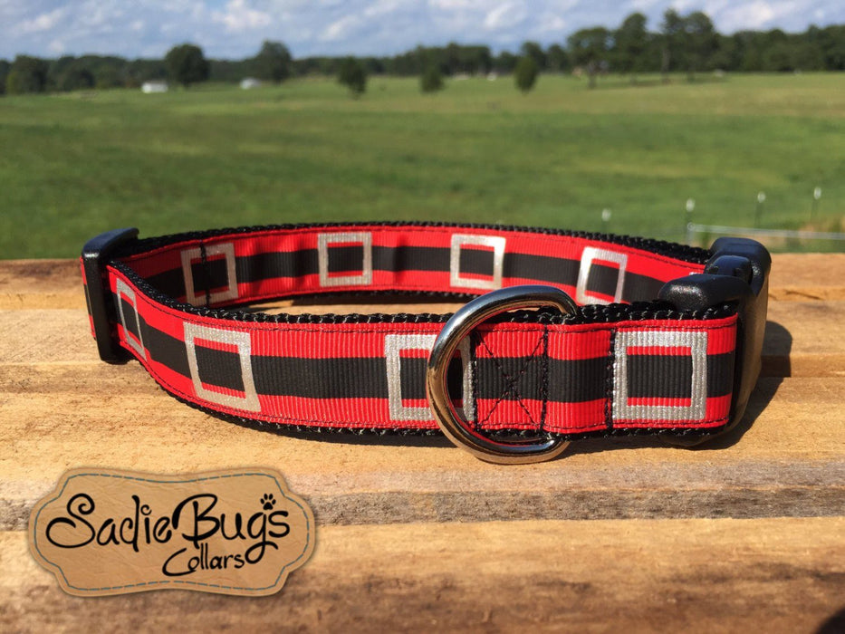 Christmas dog collar - Santa Belt