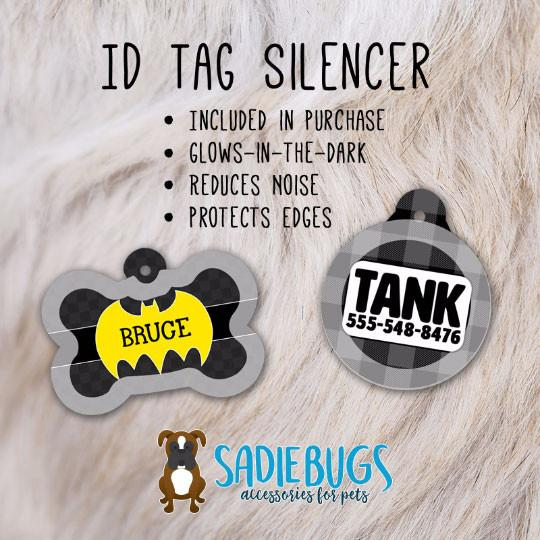 Comic Pet ID Tag - Bone