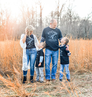 Strong & Courageous {Adults & Littles}
