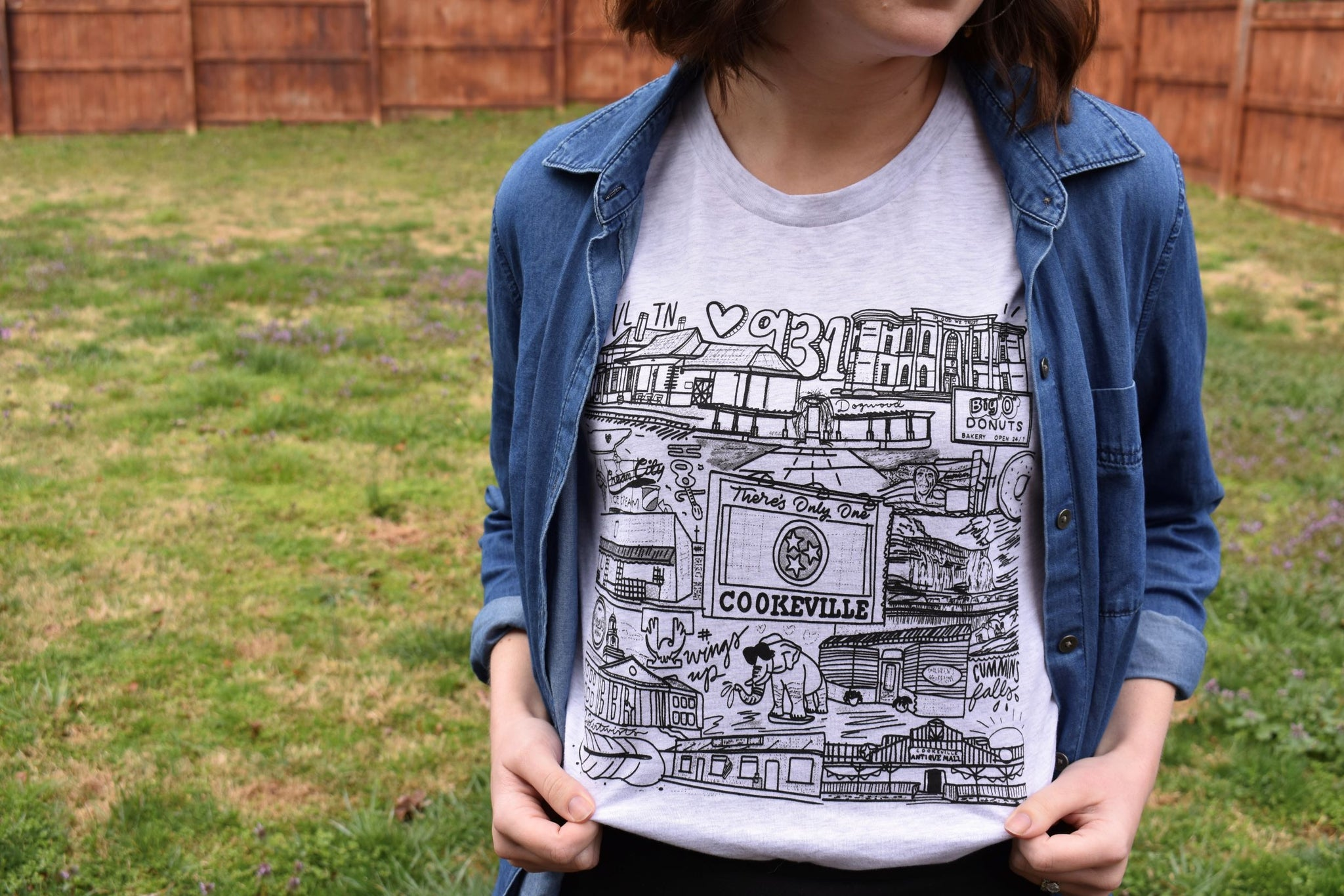 Cookeville - Local Landmarks {Color & Black}