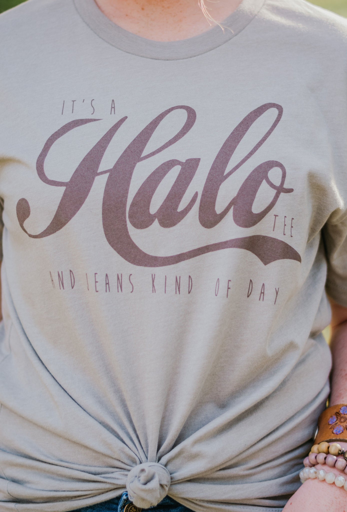 Halo Tee & Jeans