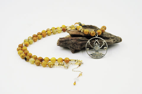 Solar Goddess Necklace