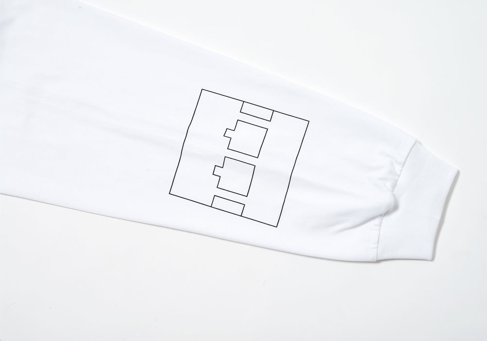 COMIC LONGLSEEVE T-SHIRT WHITE