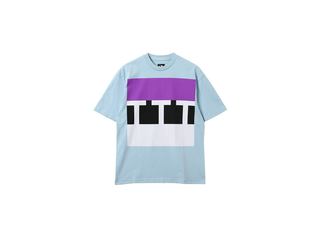 BLOCK T-SHIRT BLUE