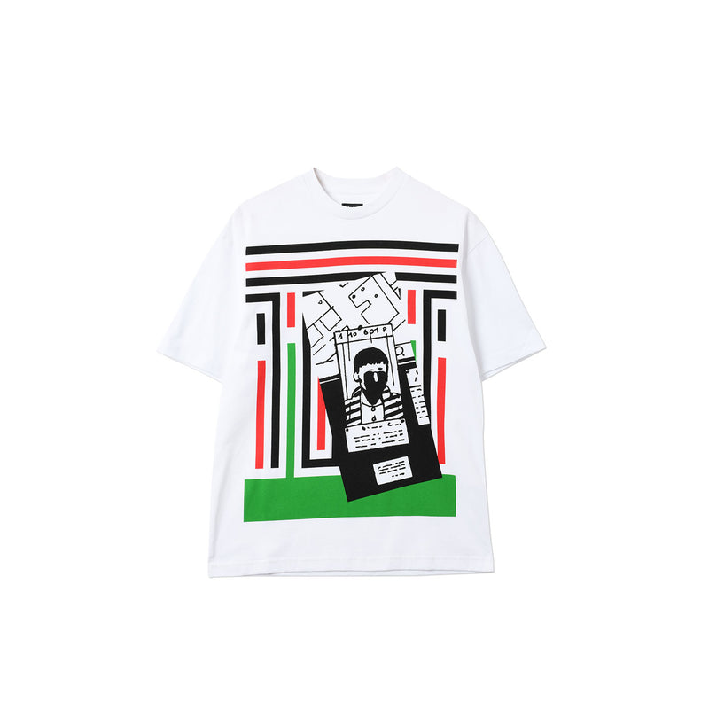 STRIPES STRIP T-SHIRT WHITE
