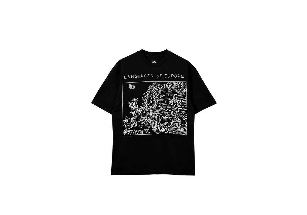LANGUAGES T-SHIRT BLACK