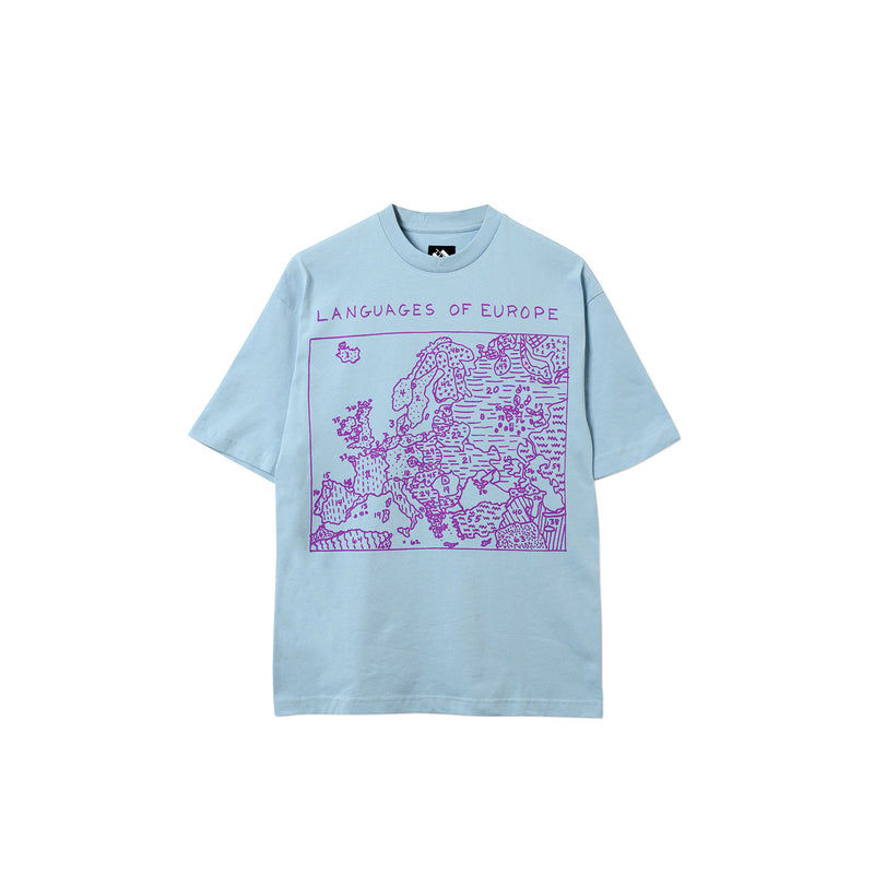 LANGUAGES T-SHIRT BLUE