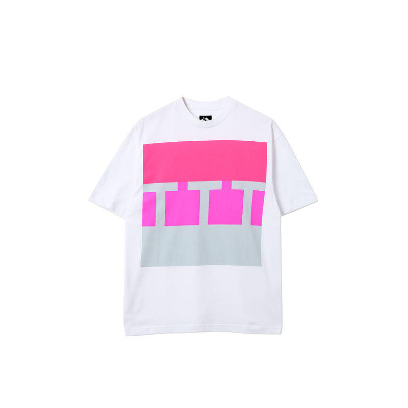 BLOCK T-SHIRT WHITE