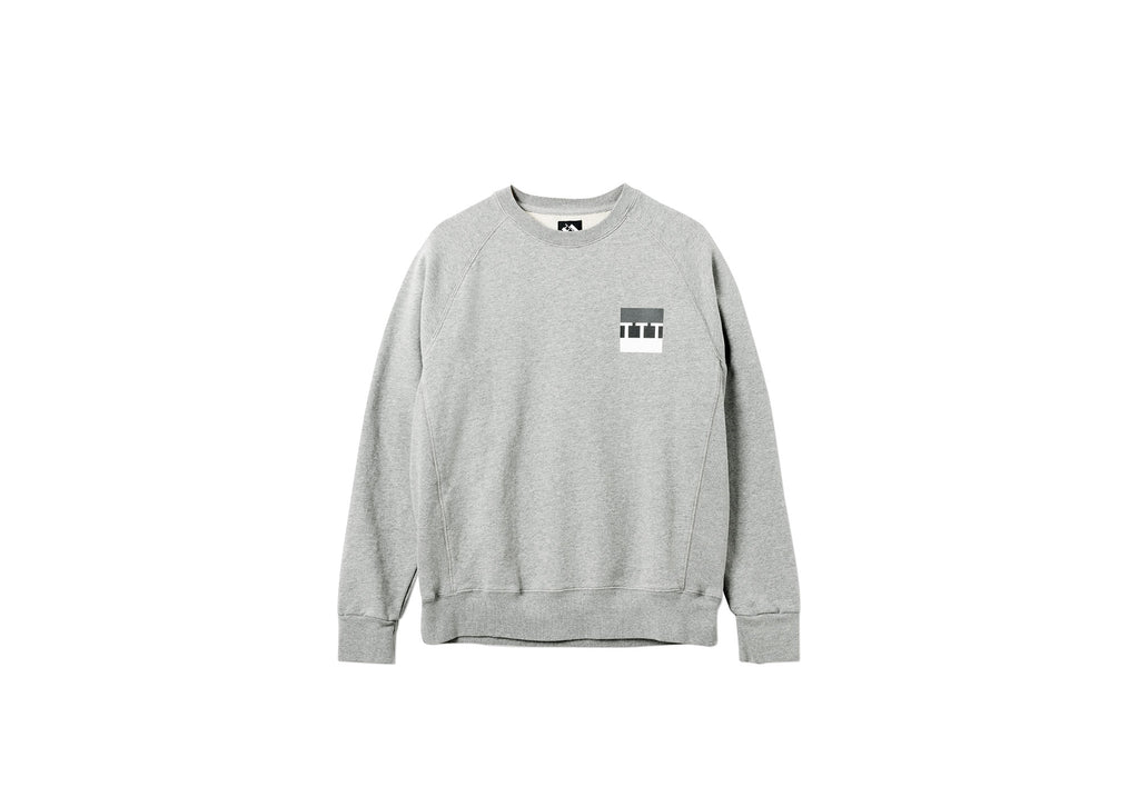 BLOCK CREW GREY MARL
