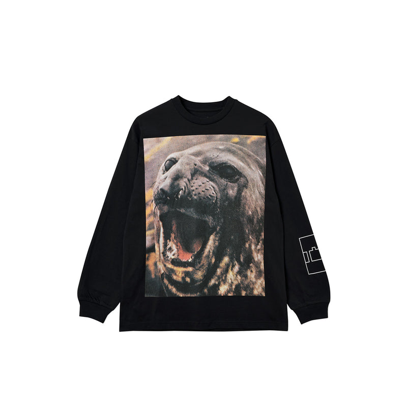 SEAL LONGSLEEVE T-SHIRT BLACK