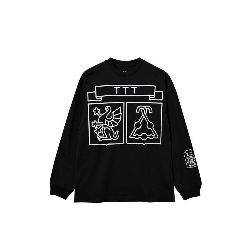 SHIELD LONGSLEEVE T-SHIRT BLACK